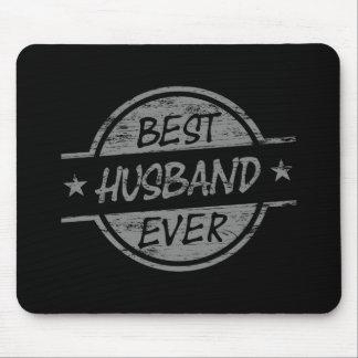 El mejor marido siempre gris tapete de raton