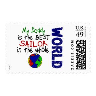 El mejor marinero en el mundo 2 (papá) sellos