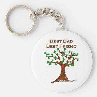 El mejor mejor amigo del papá llaveros