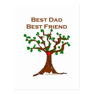El mejor mejor amigo del papá postales
