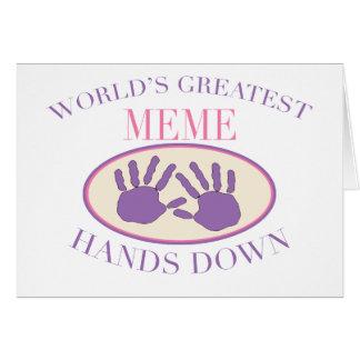 El mejor Meme impone la camiseta Felicitaciones