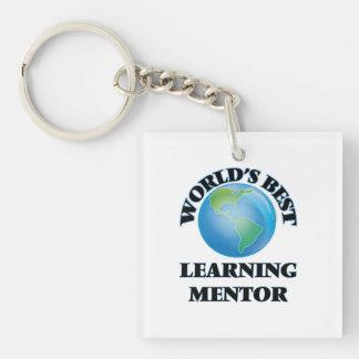El mejor mentor de aprendizaje del mundo llaveros