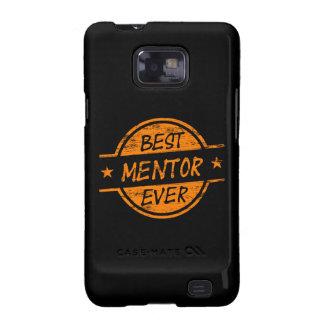 El mejor mentor siempre anaranjado samsung galaxy SII carcasa