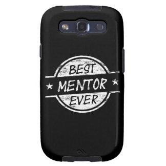 El mejor mentor siempre blanco samsung galaxy s3 fundas