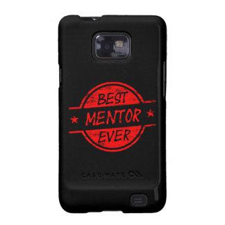 El mejor mentor siempre rojo galaxy s2 funda