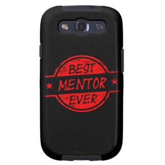 El mejor mentor siempre rojo galaxy s3 cárcasa