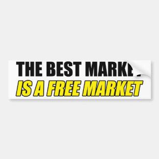 El mejor mercado es pegatina para el parachoques pegatina para auto