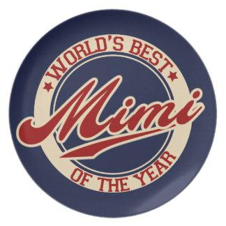 El mejor Mimi del mundo del año Plato