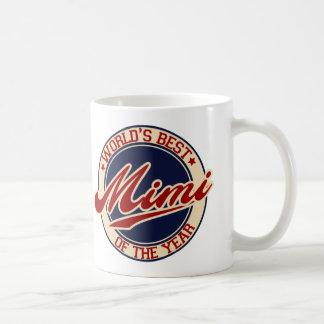 El mejor Mimi del mundo del año Tazas De Café