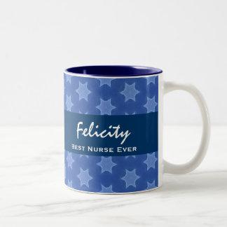 El mejor modelo de estrella siempre azul de la ENF Taza De Café