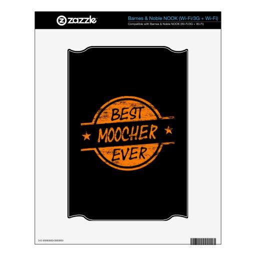 El mejor Moocher siempre anaranjado NOOK Skins