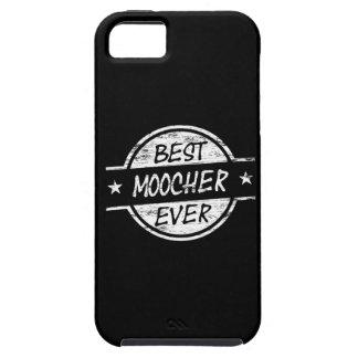 El mejor Moocher siempre blanco iPhone 5 Carcasas