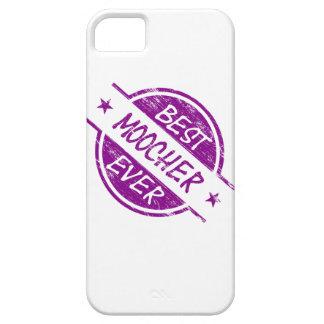 El mejor Moocher siempre púrpura iPhone 5 Case-Mate Protectores