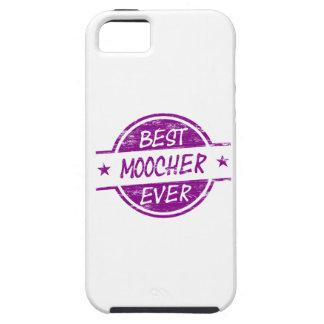 El mejor Moocher siempre púrpura iPhone 5 Cárcasa