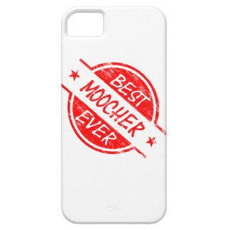 El mejor Moocher siempre rojo iPhone 5 Funda