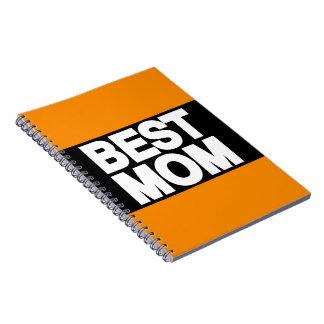 El mejor naranja de LG de la mamá Libreta Espiral