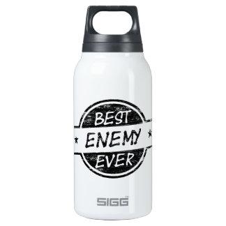 El mejor negro del enemigo nunca botella isotérmica de agua