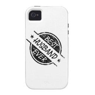 El mejor negro del marido nunca Case-Mate iPhone 4 carcasas