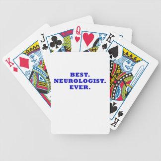 El mejor neurólogo nunca barajas de cartas