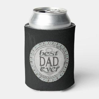 El mejor neverita de bebidas del papá del padre enfriador de latas