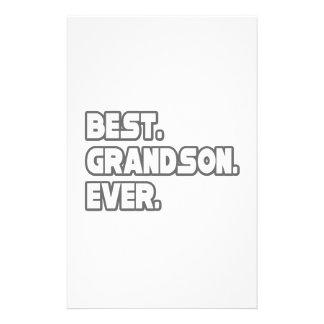 El mejor nieto nunca papelería de diseño