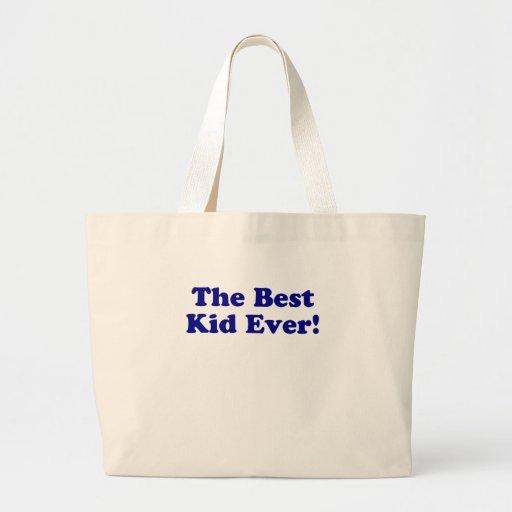 El mejor niño nunca bolsa de mano