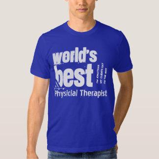 El mejor nombre del personalizado del terapeuta polera