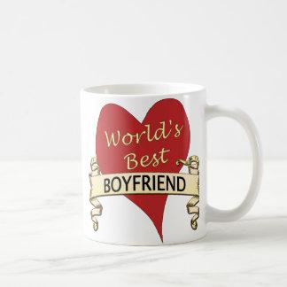 El mejor novio del mundo taza de café