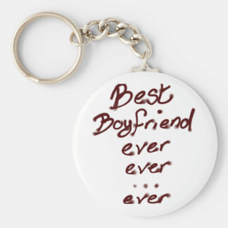 El mejor novio nunca llavero redondo tipo pin