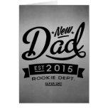 El mejor nuevo papá 2015 felicitación