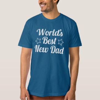 El mejor nuevo papá del mundo polera