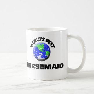 El mejor Nursemaid del mundo Taza Clásica