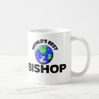 El mejor obispo del mundo taza de café