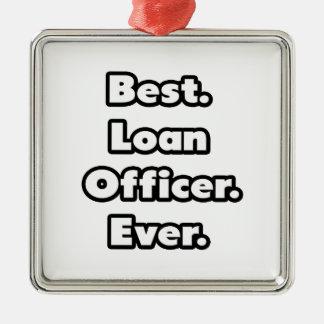 El mejor. Oficial de préstamo. Nunca Adornos De Navidad