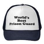 el mejor oficial de prisiones del mundo gorra