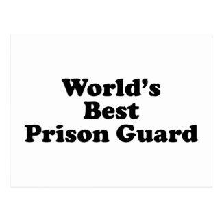 el mejor oficial de prisiones del mundo postales