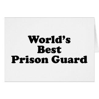el mejor oficial de prisiones del mundo felicitacion