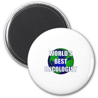El mejor oncólogo del mundo imán redondo 5 cm