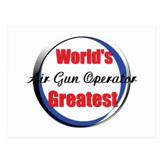 El mejor operador del Airgun de los mundos Postal