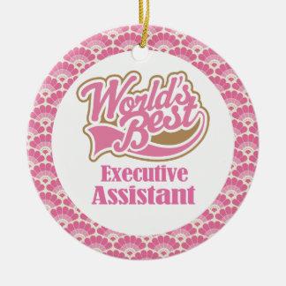 El mejor ornamento auxiliar ejecutivo del regalo d adornos