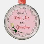 El mejor ornamento de la abuela del mundo ornatos