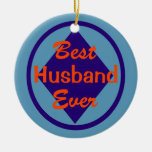 El mejor ornamento nunca personalizado del marido adorno para reyes