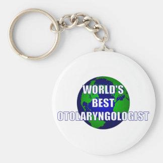 El mejor otorrinolaringólogo del mundo llaveros