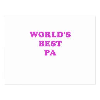 El mejor PA de los mundos Postales