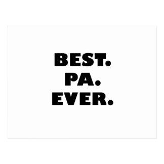 El mejor PA nunca Tarjeta Postal