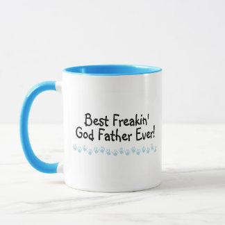 El mejor padre de dios de Freakin nunca Taza