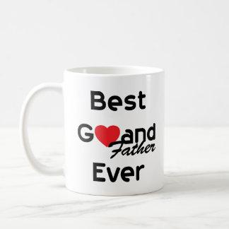 El mejor padre magnífico nunca tazas de café