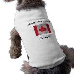 El mejor país del mundo a vivir en el t del perro  camisas de perritos