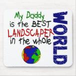 El mejor paisajista en el mundo 2 (papá) alfombrilla de ratón