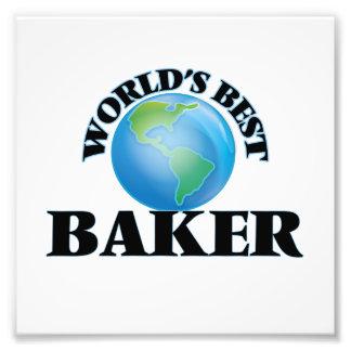El mejor panadero del mundo cojinete